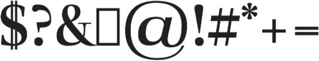 Audrey H Bold otf (700) Font OTHER CHARS