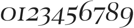 Audrey H Regular-italic otf (400) Font OTHER CHARS