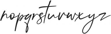 Audrey Italic otf (400) Font LOWERCASE