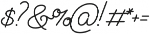 Audrey Script3 otf (700) Font OTHER CHARS
