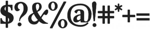 Aufa otf (400) Font OTHER CHARS