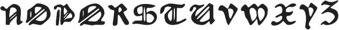 Augsburger otf (200) Font UPPERCASE