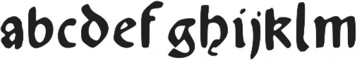 Augsburger otf (200) Font LOWERCASE