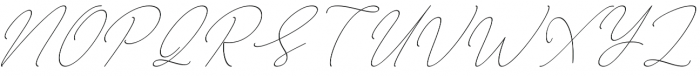August Script otf (400) Font UPPERCASE