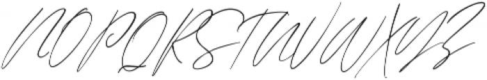 Augusto Regular ttf (400) Font UPPERCASE