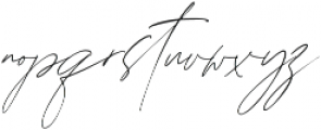 Augusto Regular ttf (400) Font LOWERCASE
