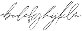 Augusto ttf (400) Font LOWERCASE