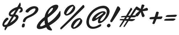 Auliyana otf (400) Font OTHER CHARS