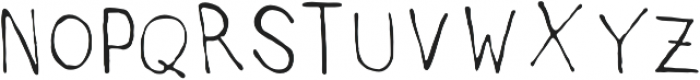 AuntieLee otf (300) Font UPPERCASE