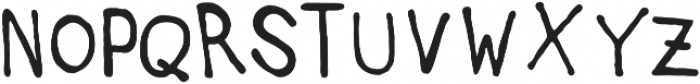 AuntieLee otf (400) Font UPPERCASE