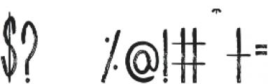 Aura Regular Regular otf (400) Font OTHER CHARS