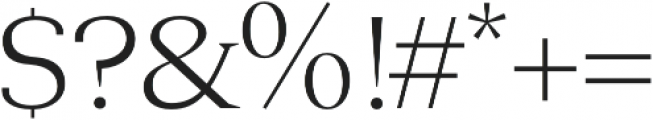 Aureate regular otf (400) Font OTHER CHARS