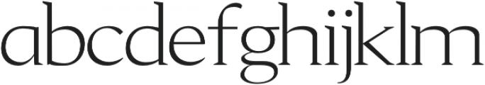 Aureate regular otf (400) Font UPPERCASE