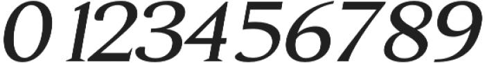 Aureate semi-bold-italic otf (600) Font OTHER CHARS