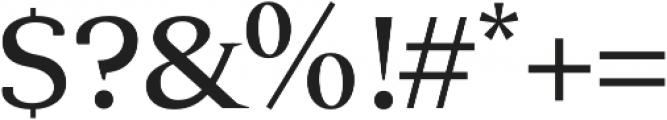 Aureate semi-bold otf (600) Font OTHER CHARS