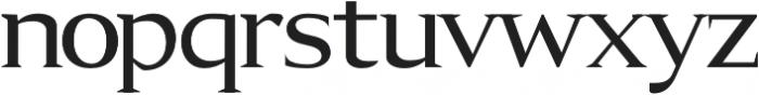 Aureate semi-bold otf (600) Font LOWERCASE