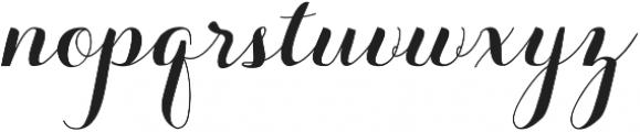 Aurella otf (400) Font LOWERCASE