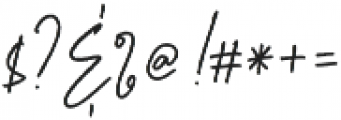 Aurelly Signature otf (400) Font OTHER CHARS
