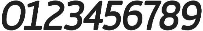 Auro Medium Italic otf (500) Font OTHER CHARS