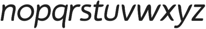 Auro Regular Italic otf (400) Font LOWERCASE