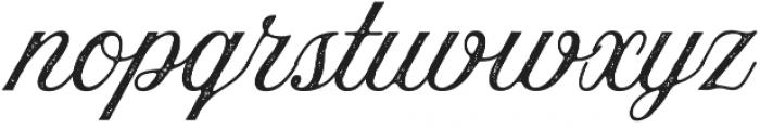 Aurora Aged Regular otf (400) Font LOWERCASE