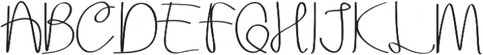 Aurora Alternate otf (400) Font UPPERCASE