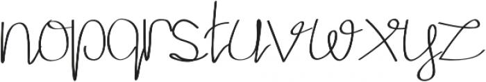Aurora Alternate otf (400) Font LOWERCASE
