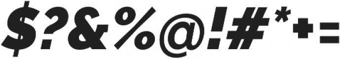 Aurora Black Italic otf (900) Font OTHER CHARS
