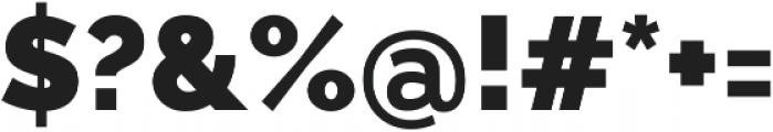 Aurora Black otf (900) Font OTHER CHARS