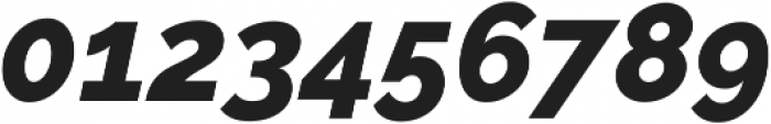 Aurora ExtraBold Italic otf (700) Font OTHER CHARS