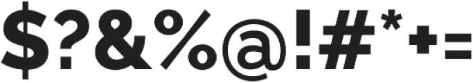 Aurora ExtraBold otf (700) Font OTHER CHARS