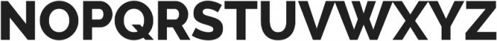 Aurora ExtraBold otf (700) Font UPPERCASE