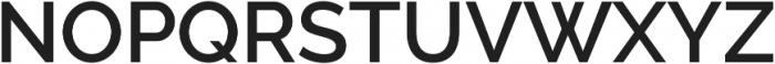Aurora SemiBold otf (600) Font UPPERCASE