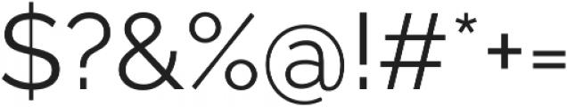 Aurora otf (400) Font OTHER CHARS