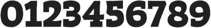 Auster Slab Black otf (900) Font OTHER CHARS