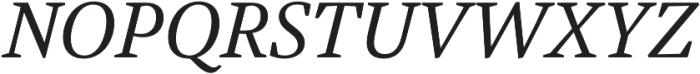 Austera Text otf (400) Font UPPERCASE