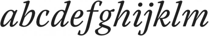 Austera Text otf (400) Font LOWERCASE