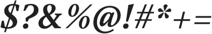 Austera Text otf (700) Font OTHER CHARS