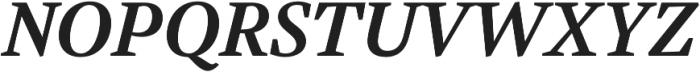 Austera Text otf (700) Font UPPERCASE