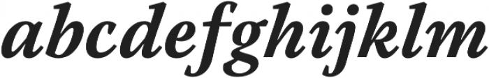 Austera Text otf (700) Font LOWERCASE