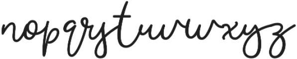 Austic Regular otf (400) Font LOWERCASE