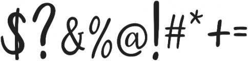Austin otf (400) Font OTHER CHARS