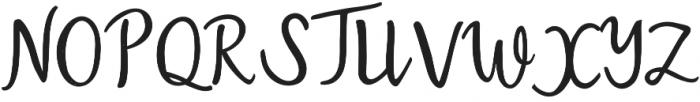 Austin otf (400) Font UPPERCASE