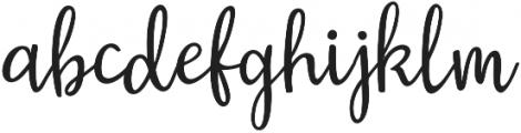 Austin otf (400) Font LOWERCASE