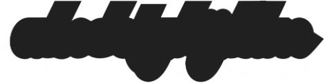 Austine Script Extrude Regular otf (400) Font LOWERCASE