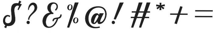Austine Script Regular otf (400) Font OTHER CHARS