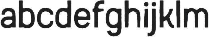 Austral Sans otf (400) Font LOWERCASE
