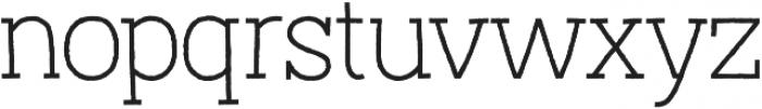 Austral Slab otf (100) Font LOWERCASE