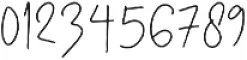 Australia Script Reguler otf (400) Font OTHER CHARS