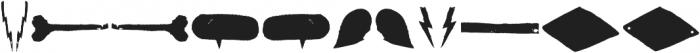 Australia Skate Dingbat otf (400) Font LOWERCASE